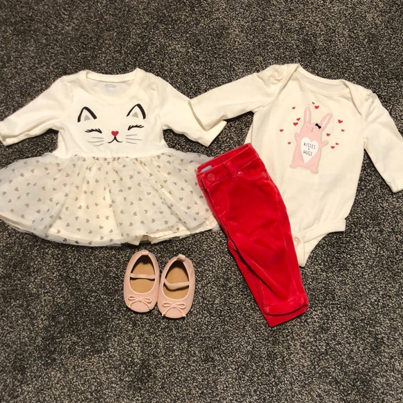 655503fbec9ee GAP Matching Sets | Hp 03 Month Dress Matching Outfit Wshoes | Poshmark